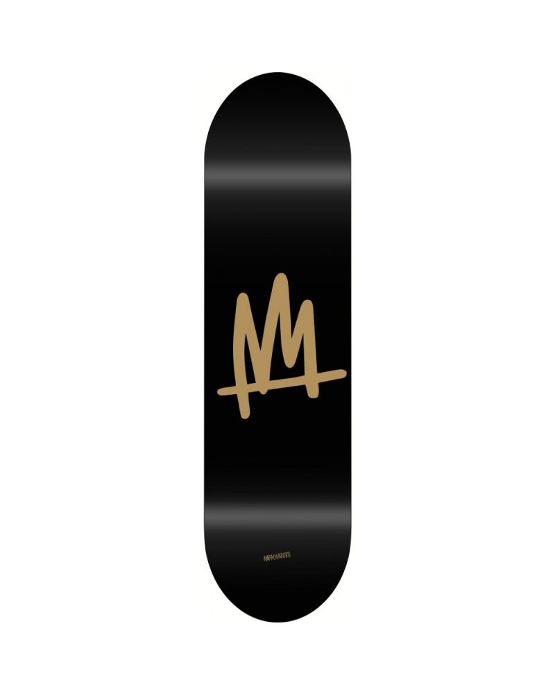 8.375` Deck Black Gold