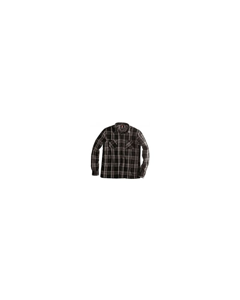 Dialed Flannel Black/ Dark Gull Plaid