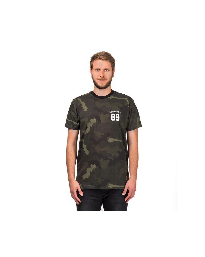 Dress T-Shirt - Black Camo