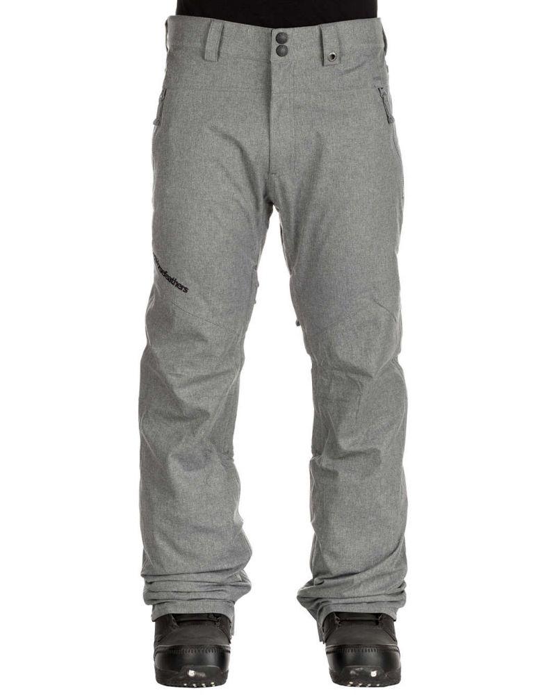 Elkins Pant-Grey Melange