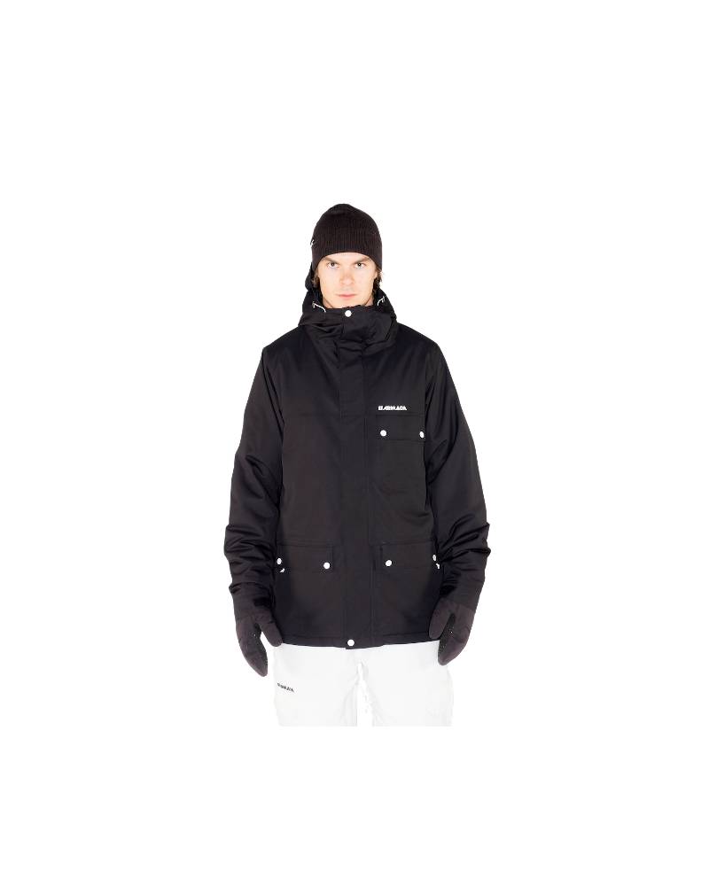 Emmett Insulated Jacket BLACK