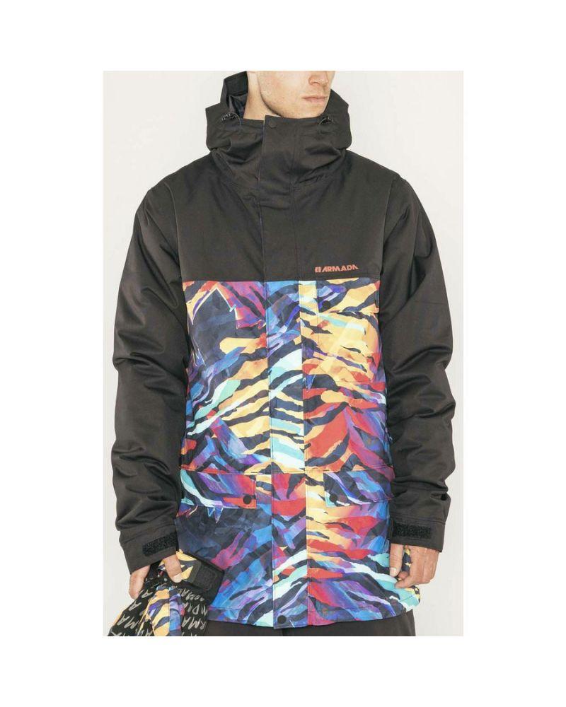 Emmett Insulated Jacket Tiger Ween
