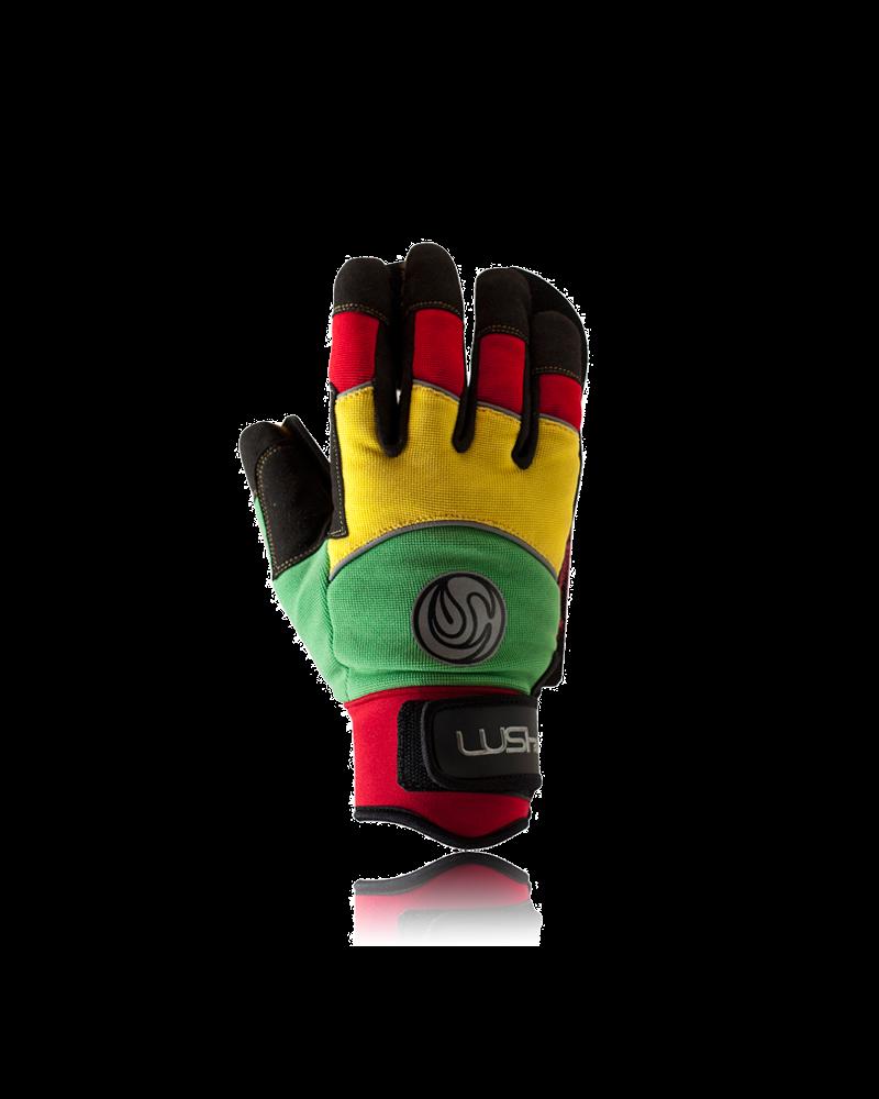 LUSH Longboards Deluxe Freeride Gloves - Rasta