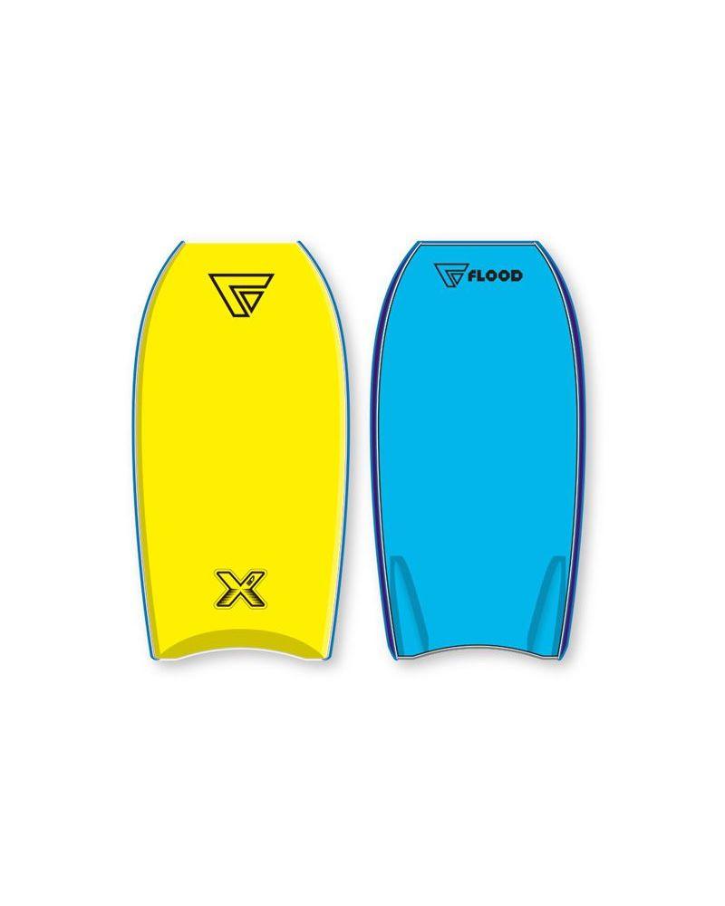 """Bodyboard Dynamx Stringer Blue Yellow 40"""""""