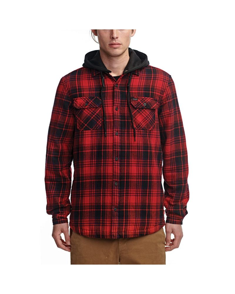 ALFORD III LS SHIRT OXBLOOD