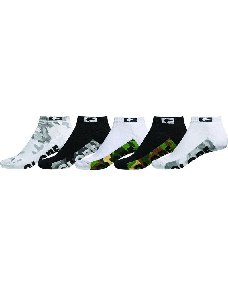MALCOM ANKLE SOCK 5PK Camo  Single