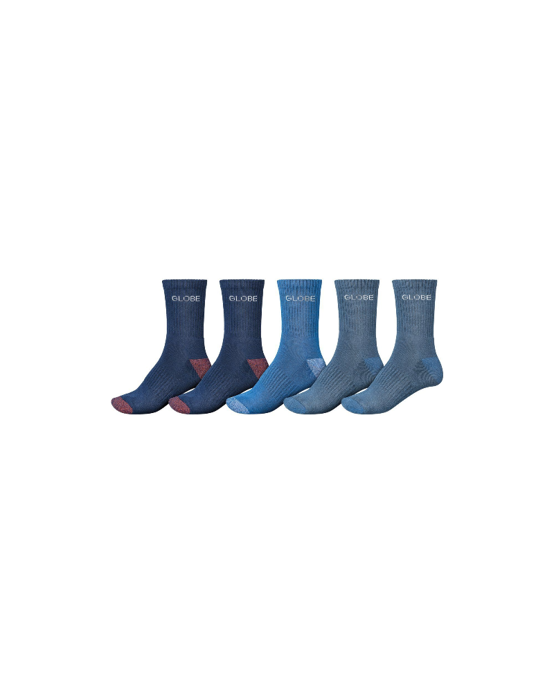 BLUES CREW SOCK 5 PACK