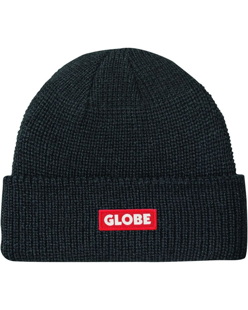 BAR BEANIE BLACK