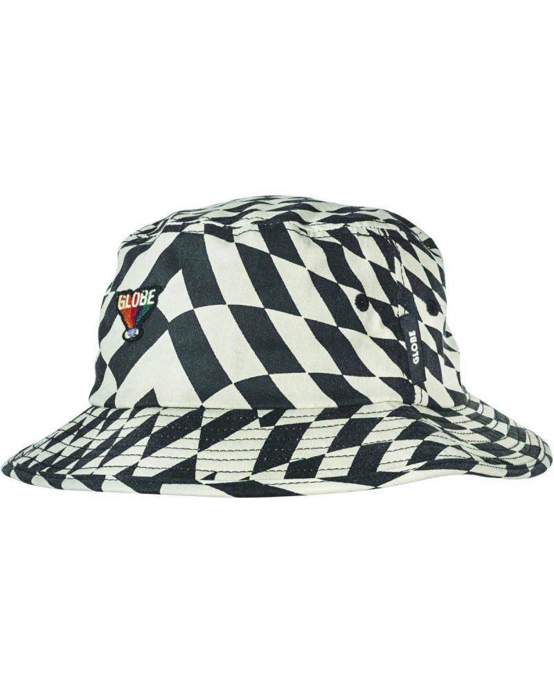 COF BUCKET HAT - VORTEX BLACK