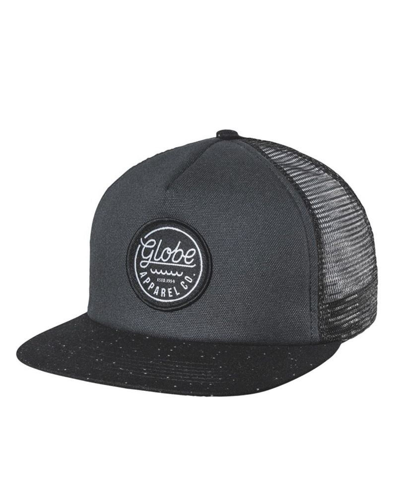 Expedition Trucker Snap Back Black
