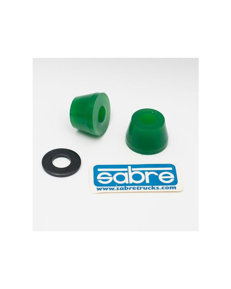 SABRE Trucks Cone Bushings - Green 93A