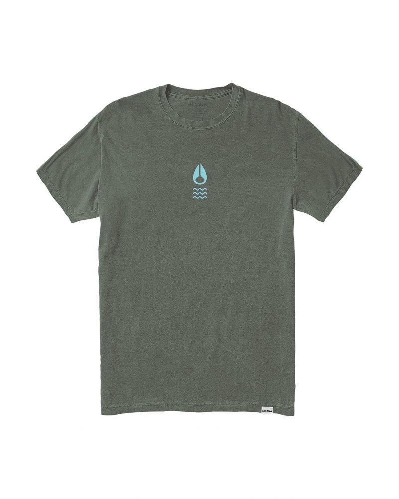 NIXON Hydro S/S Tee - Tumbleweed