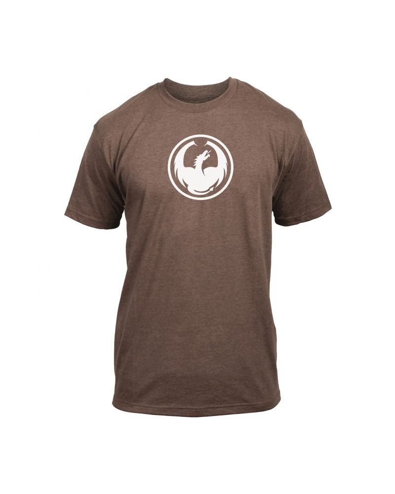 ICON TEE TWO BROWN HEATHER