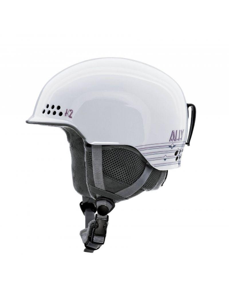 K2 Ally W's Helmet - White