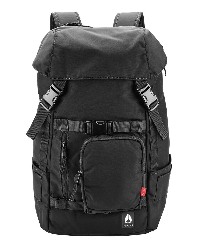 30L Backpack All Black Nylon