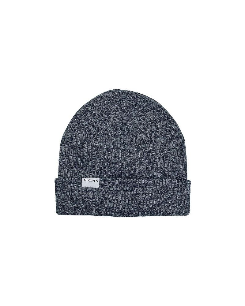 Logan Beanie - Navy Heather