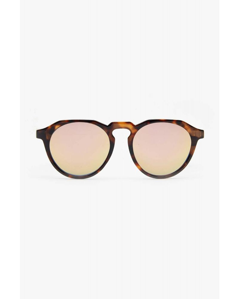 SUNGLASSES BROWN MARBLING PINK SHADING