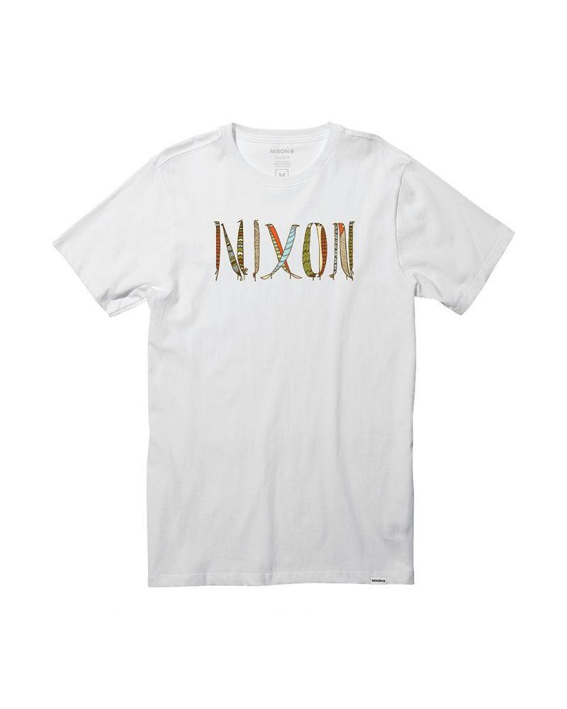 NIXON Nest S/S Tee - White