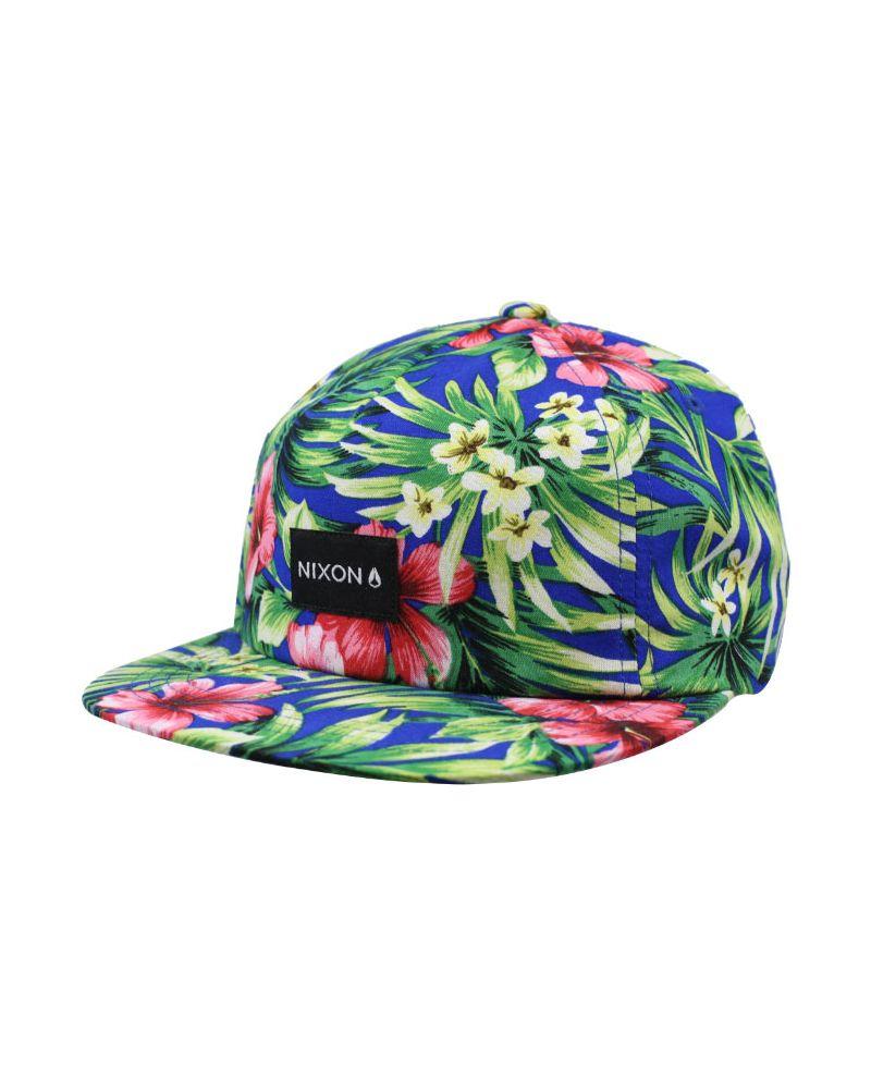 Tropics Snapback Hat Paradise / White