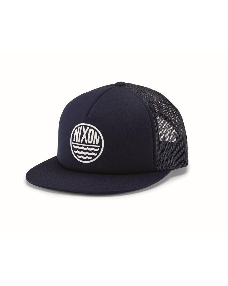 Ridge Trucker Hat Navy / White