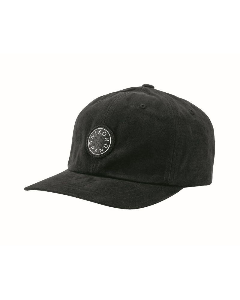 Olivas Strapback Hat Black