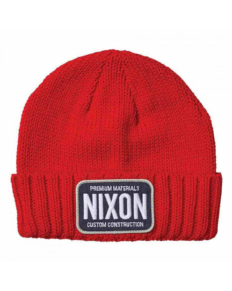 Trucker Beanie Red