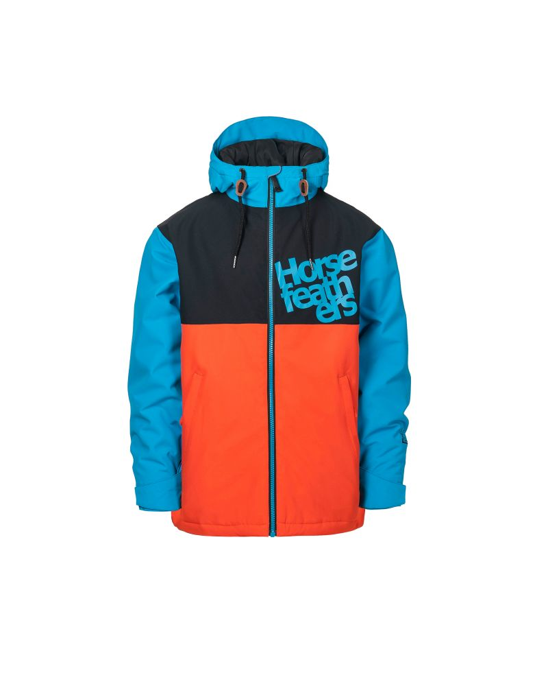 ATOLL YOUTH JACKET red orange
