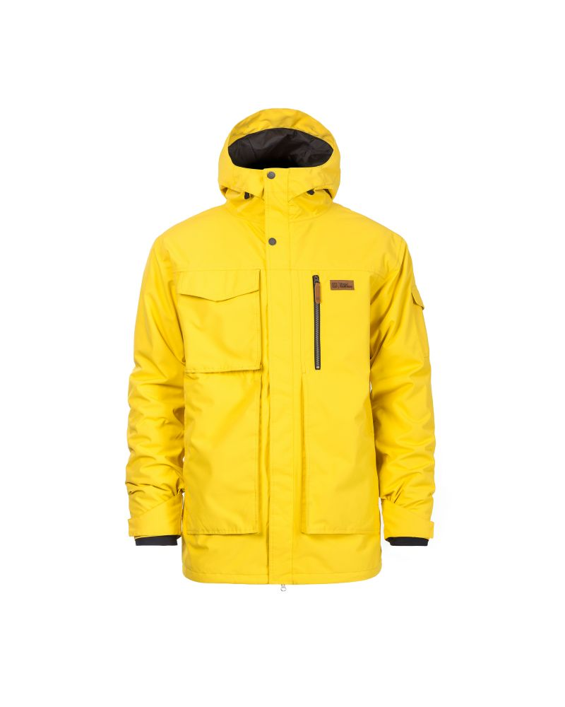 HERALD JACKET lemon