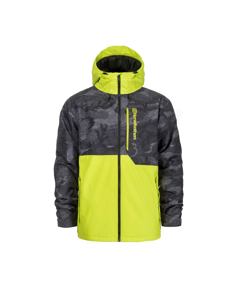 WRIGHT JACKET lime