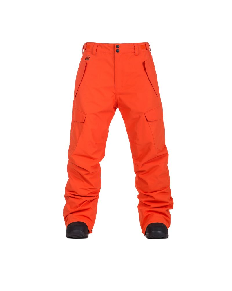 BARS PANTS red orange