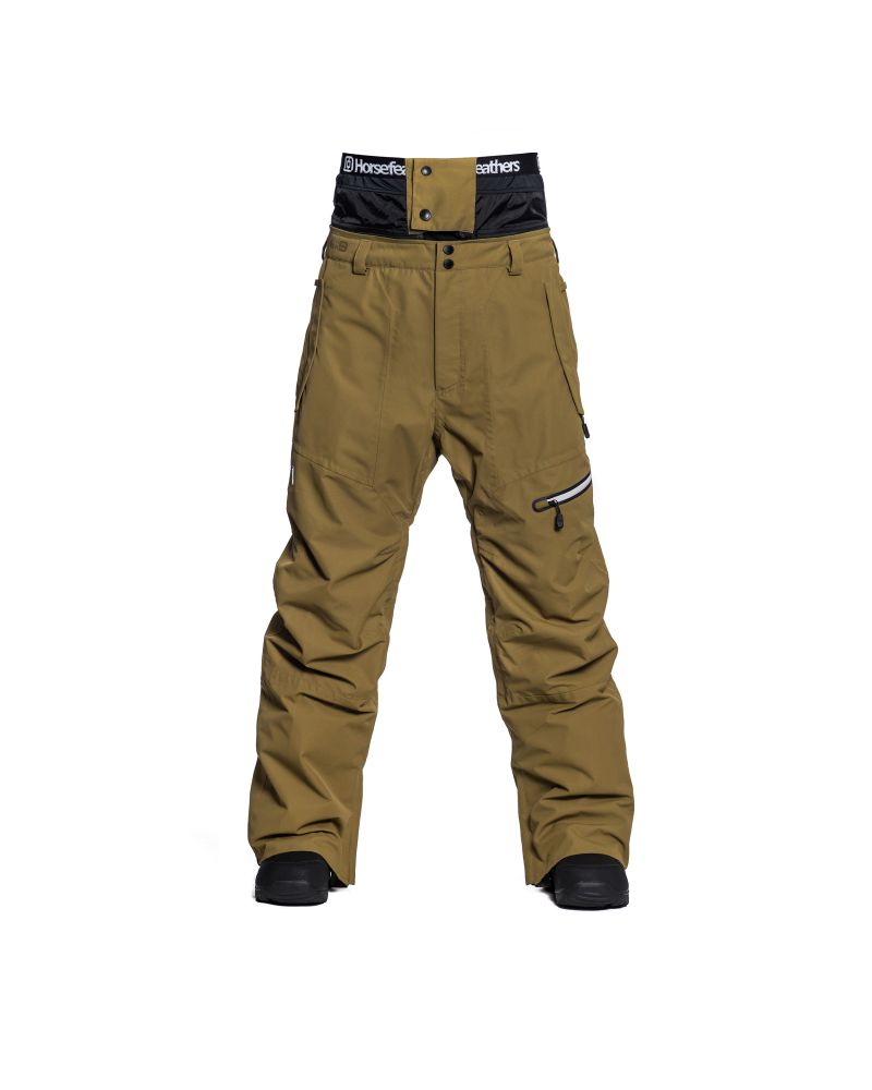 NELSON PANTS dull gold