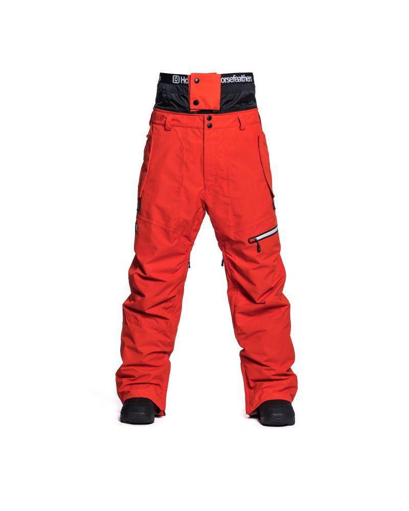 NELSON PANTS fiery red