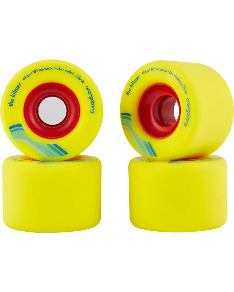 THE KILMER 86a YELLOW 69mm