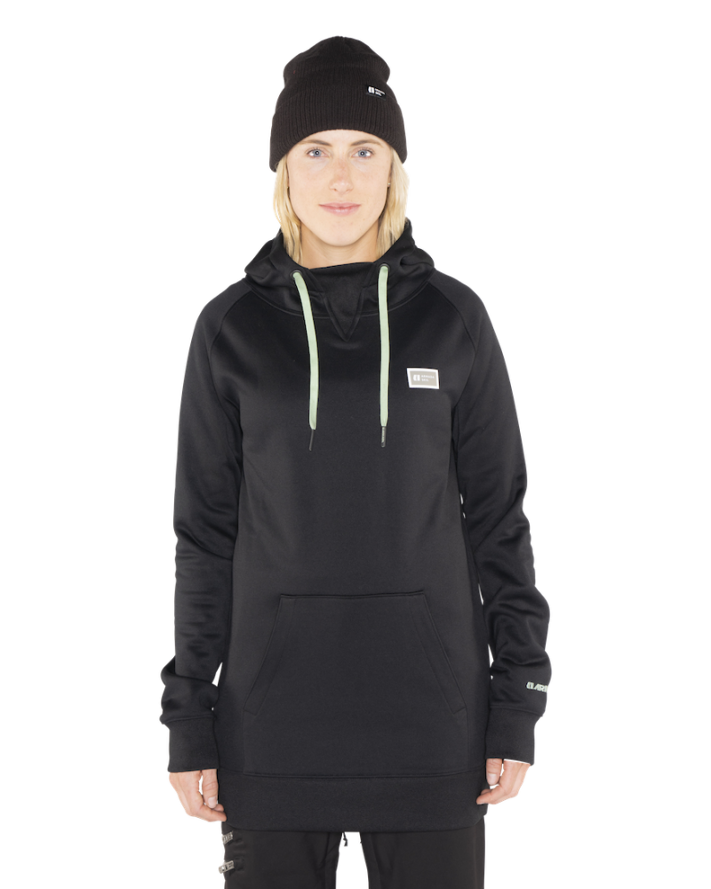 Parker Pullover Tech Hoodie BLACK