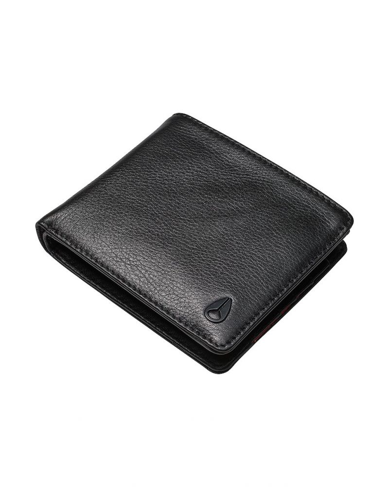 Pass Leather Coin Black