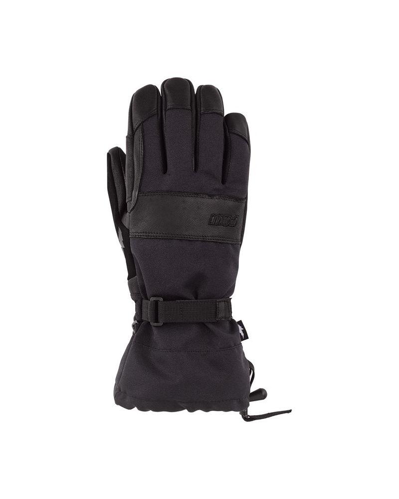 August Long Gauntlet Glove Black