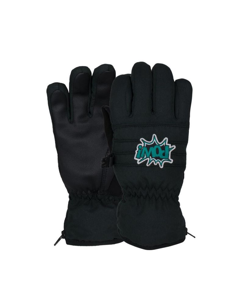 POW Grom Kids Glove - Black