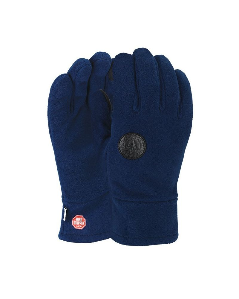 POW LINK TT W/s FLEECE GLOVE - Blue