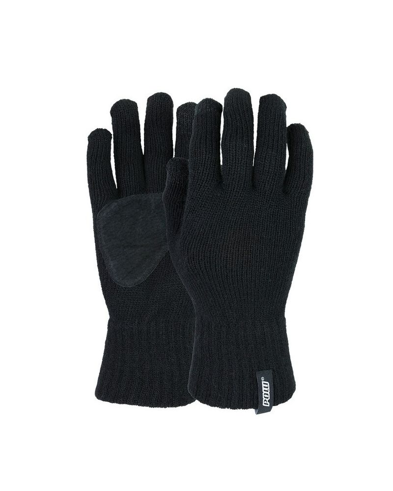 POW KNIT GLOVE - Black