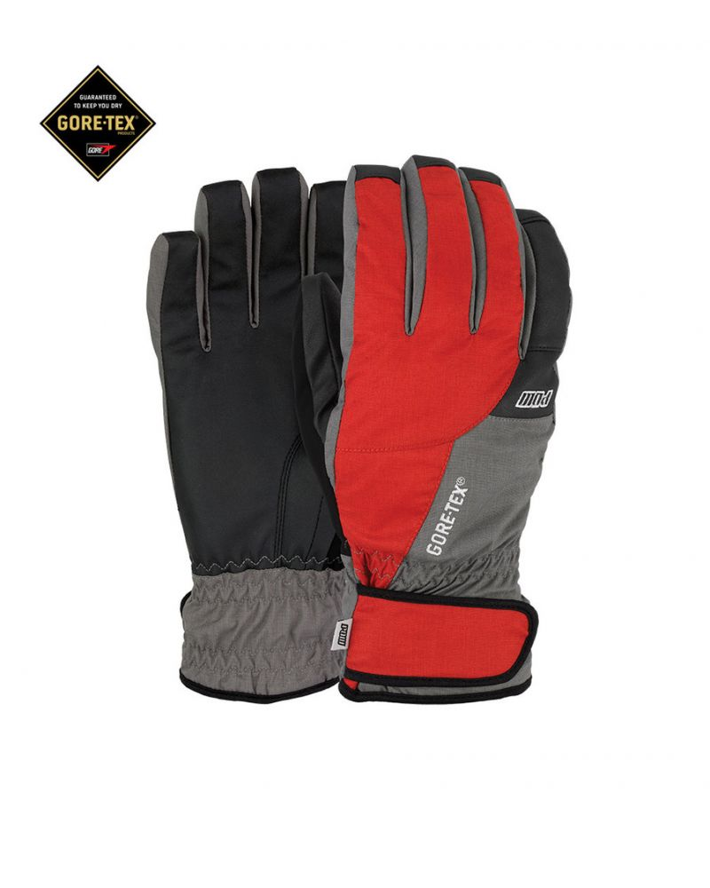 WARNER GTX SHORT GLOVE - RED