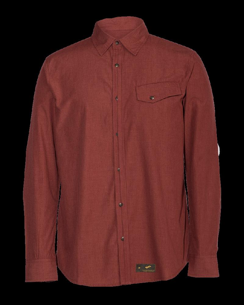 Providence Woven Shirt - Port
