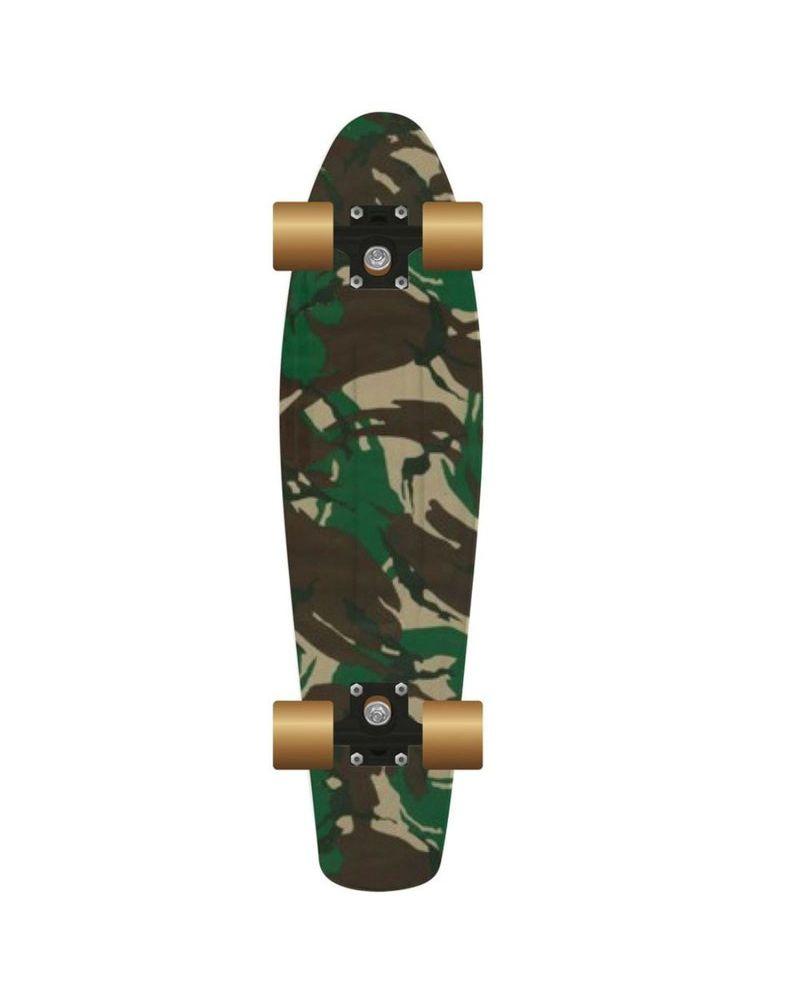 "28"" Retro Plastic Skateboard - Street"