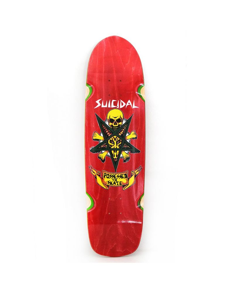 POSSESSED TO SKATE POOL RED DECK 8.75 X 32.50
