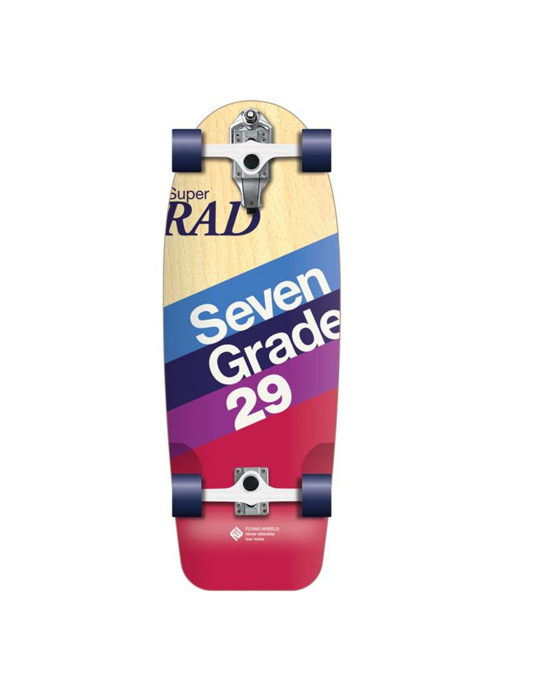 "29"" Surfskateboard Lombard Rad"