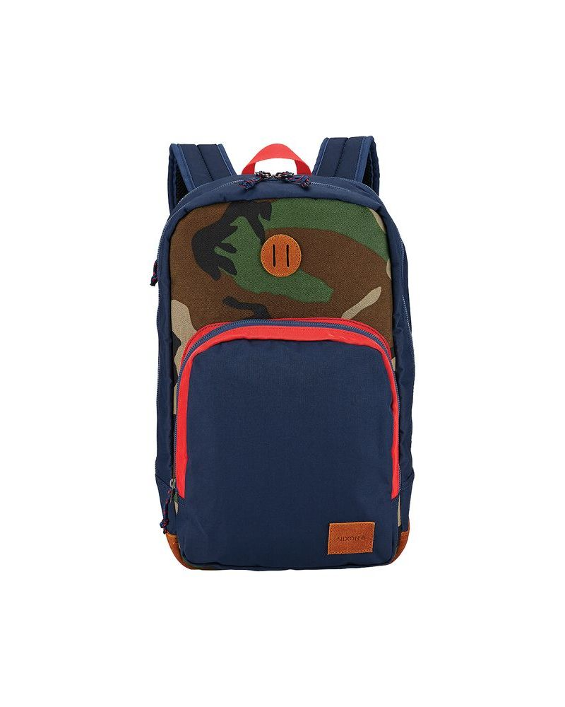 RANGE BACKPACK - Navy / Woodland Camo 18 L