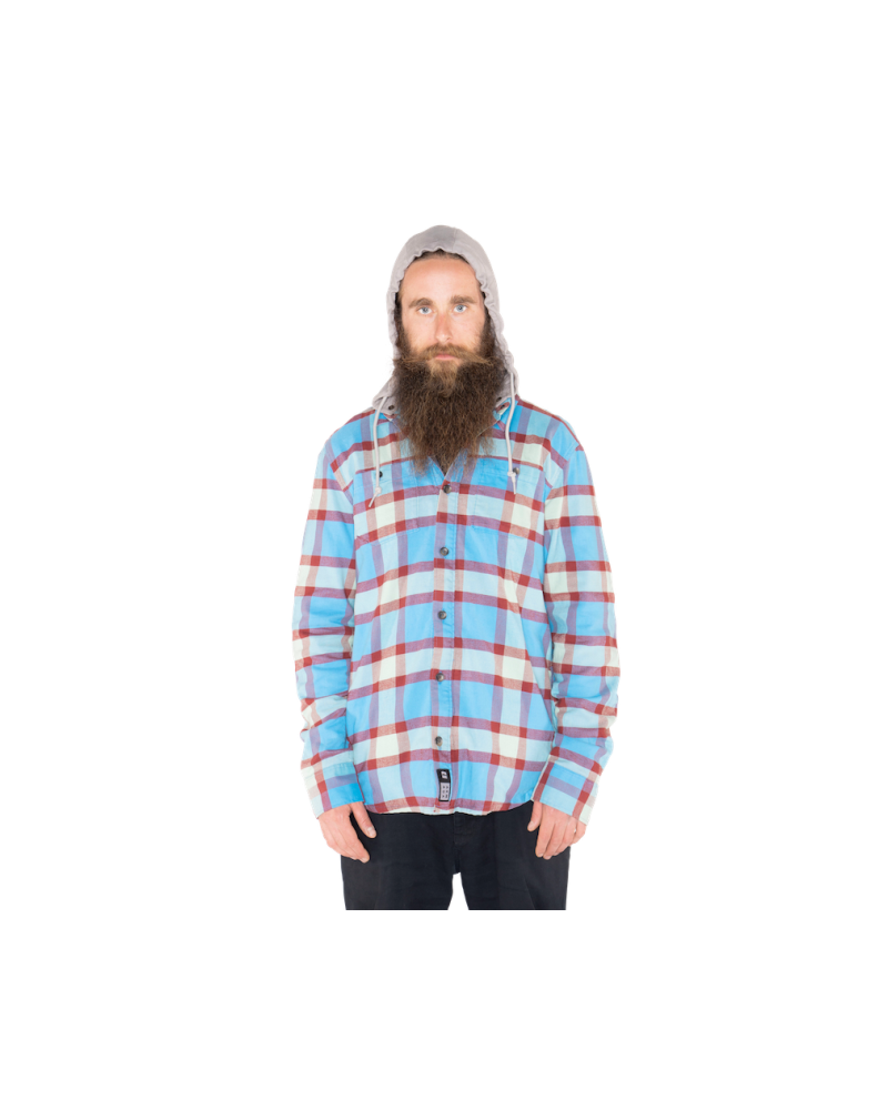 Reading Flannel Hoodie BIG SKY PLAID