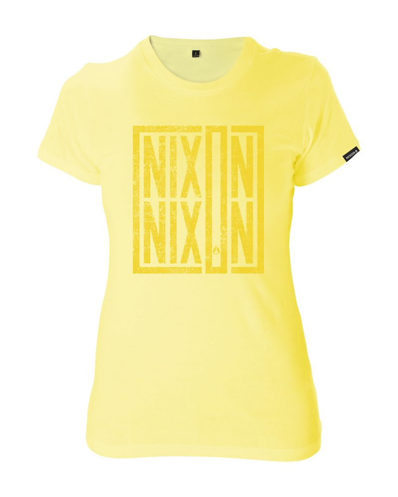 Prime Tee W - Washed Yellow