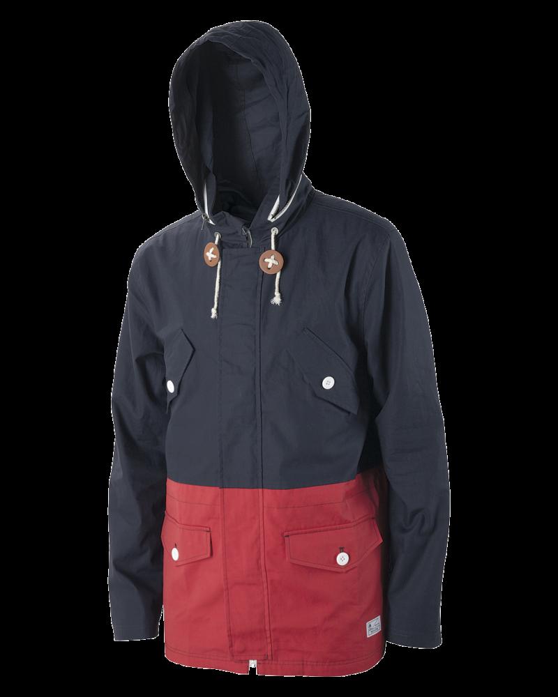 PI Jacket - Faded Navy / Red