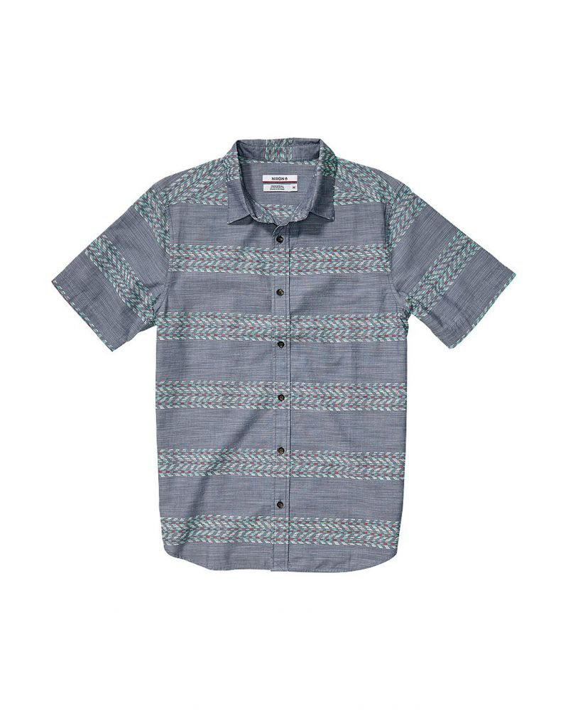 LEARY S/S SHIRT - Navy