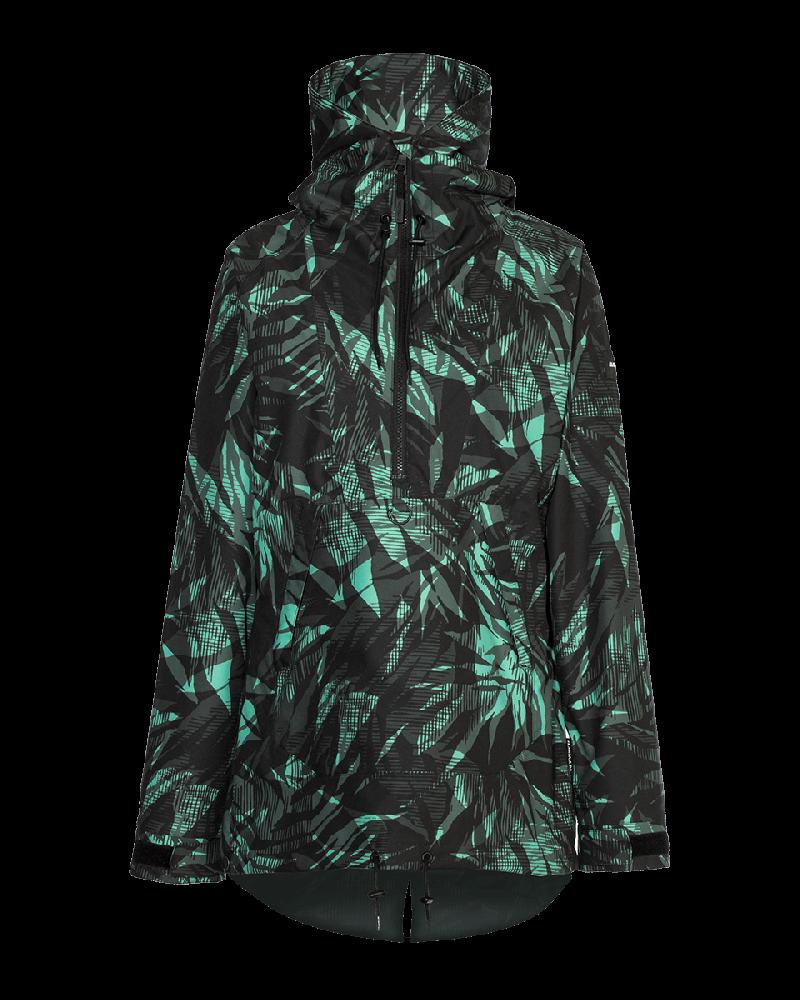 Saint Pullover Jacket - Wintergreen Fern
